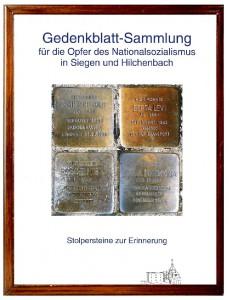 Gedenkblatt-Sammlung klein
