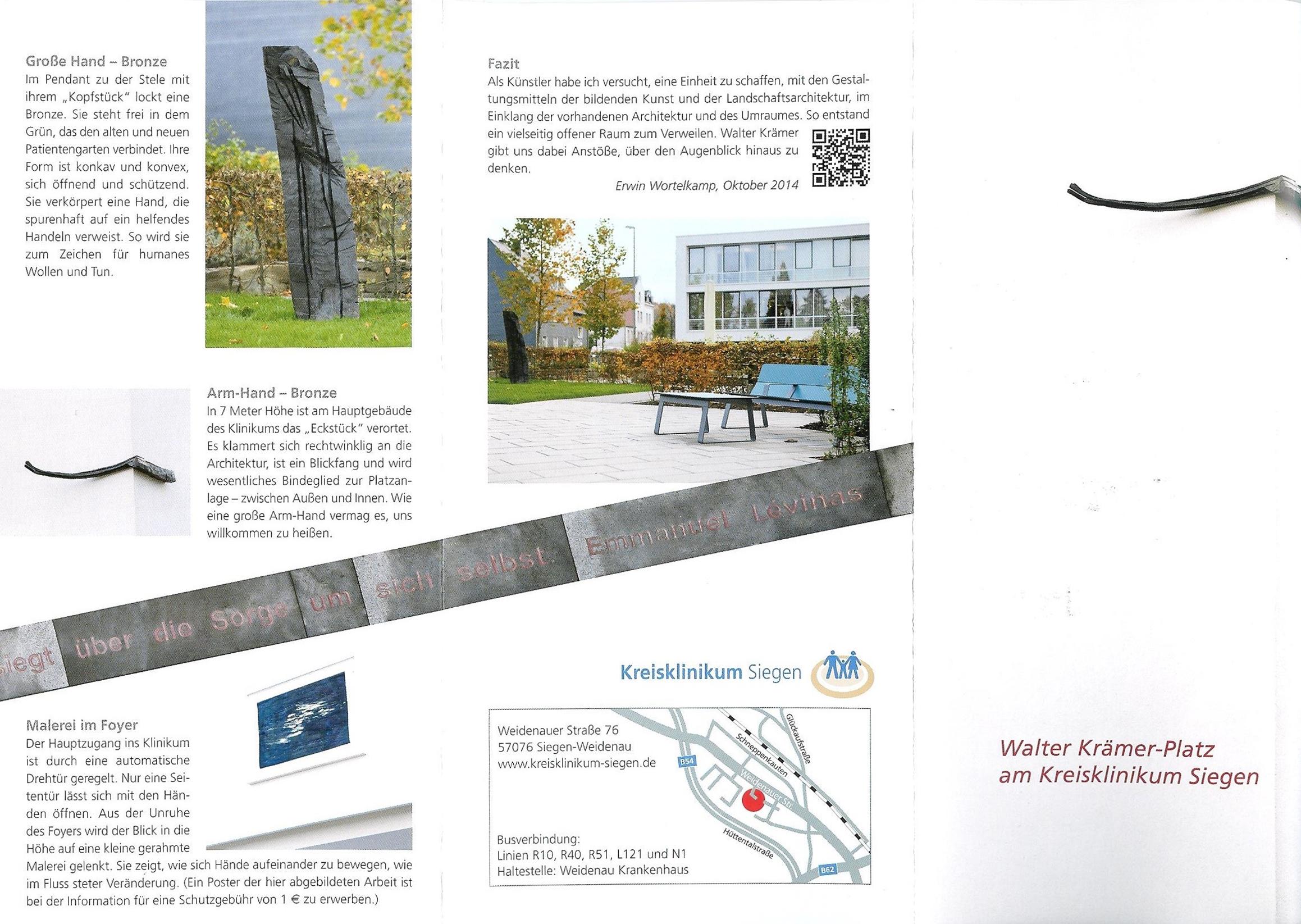 Flyer W.K.-Denkmal I