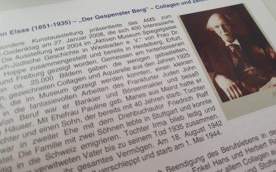"""John Elsas – """"Der Gespenster Berg"""" – Collagen und Zeichnungen (2008)"""